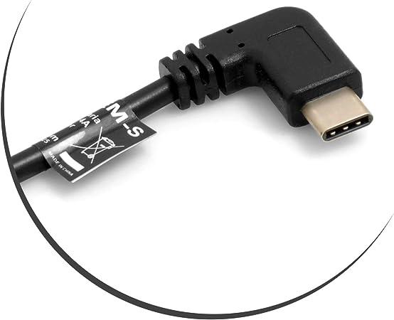 System S Otg Host Usb 3 1 C Kabel Winkel Zu Micro Usb Elektronik
