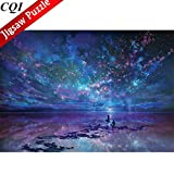 1000 Piece Jigsaw Puzzles for Adults - Fantasy Romantic Star Sea Imagination Series Landscape Puzles