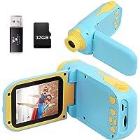 Kids Camera, Video Camera Camcorder for Kids Gifts,1080P HD DV Digital Video Camera, 2.4inch Screen12MP Kids Camera for…