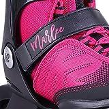 K2 Skate Youth Marlee Inline Skates, Magenta, 1-5