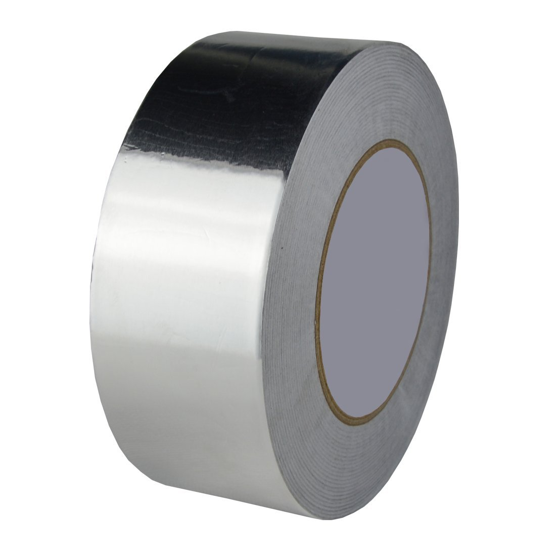 Hxtape 4 Mil (2 inch-55yds) Aluminum Foil Tape,Silver,Good for HVAC, Sealing & Patching Hot & Cold Air Ducts, Metal Repair by Hxtape (Image #1)