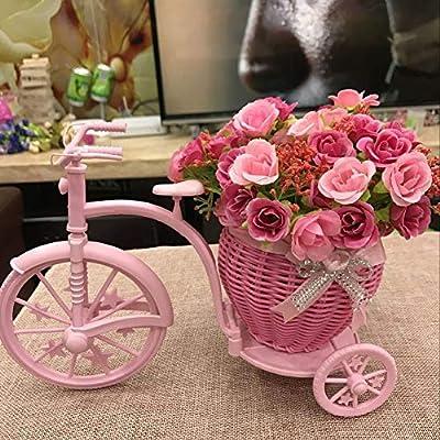 Camas De Flores De Jardín Plataforma Mini, Bicicleta De Flores ...