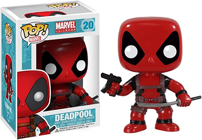 Bobble-Head - N° 111 Funko POP NEUF Marvel Deadpool // With Swords