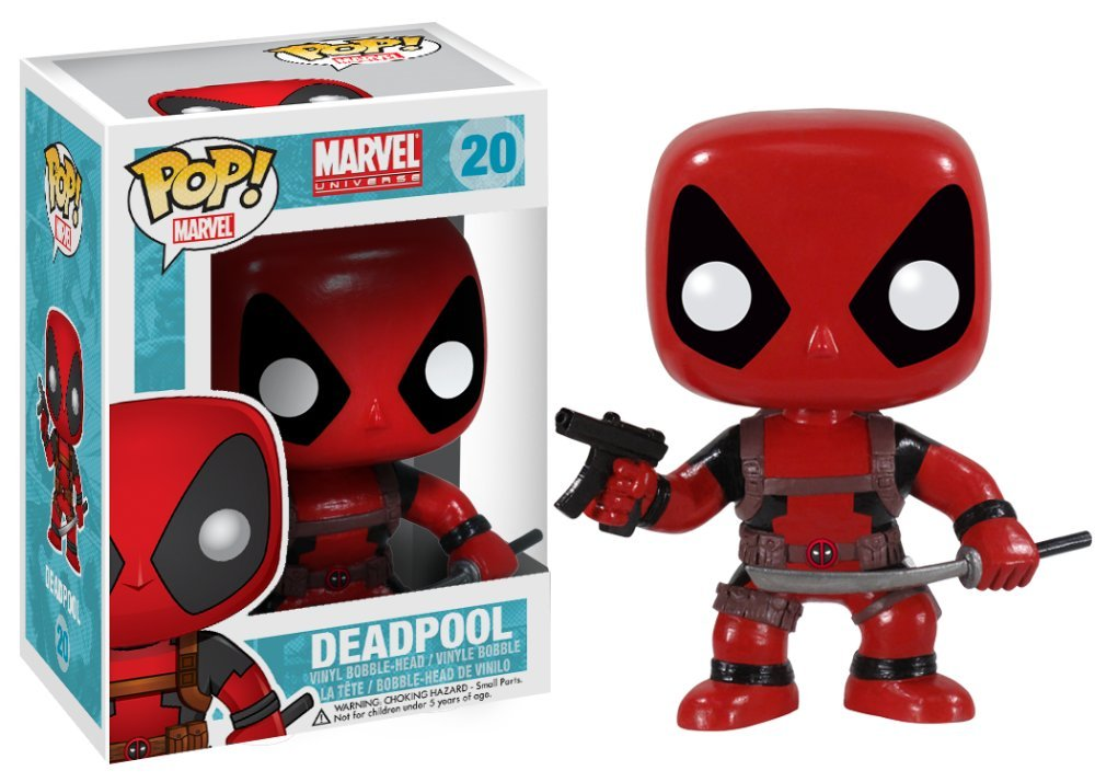 Deadpool Vinyl Bobble-head Figure Funko 3052 Accessory Toys /& Games Miscellaneous POP Marvel
