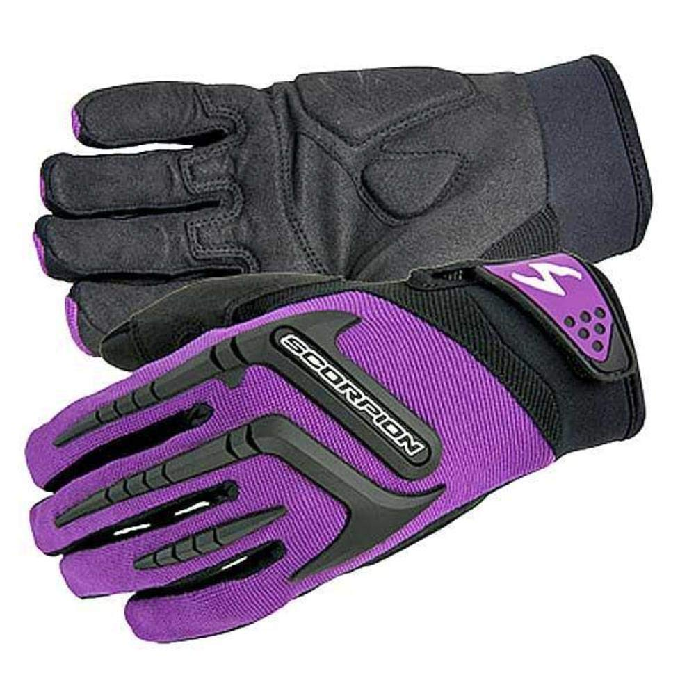1 Pack ScorpionExo Womens Skrub Gloves Pink, Medium
