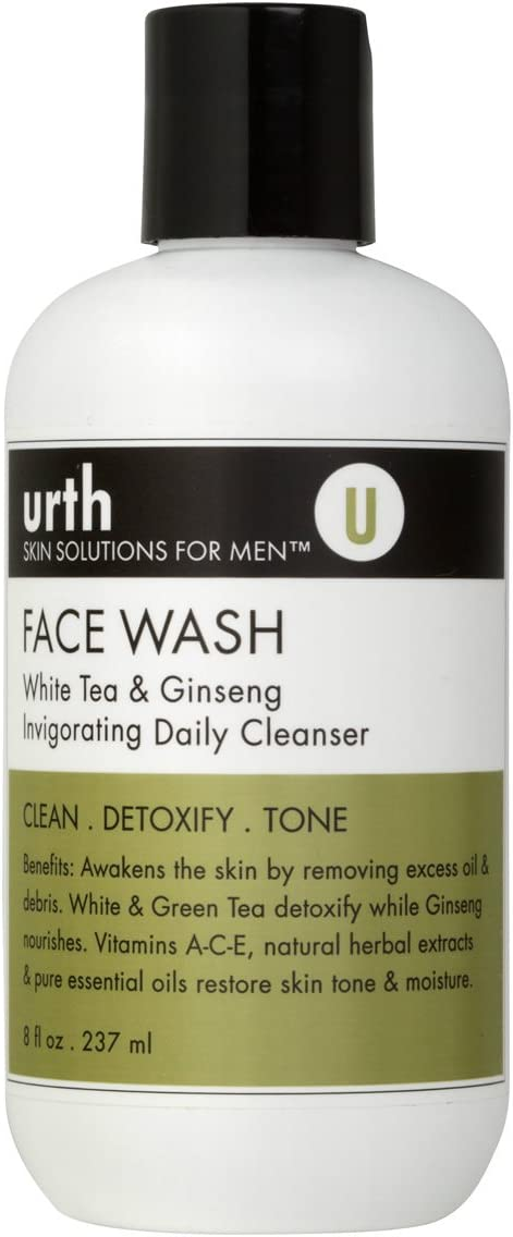 Urth Face Wash with White Tea & Ginseng Invigorating Daily Cleanser 8oz