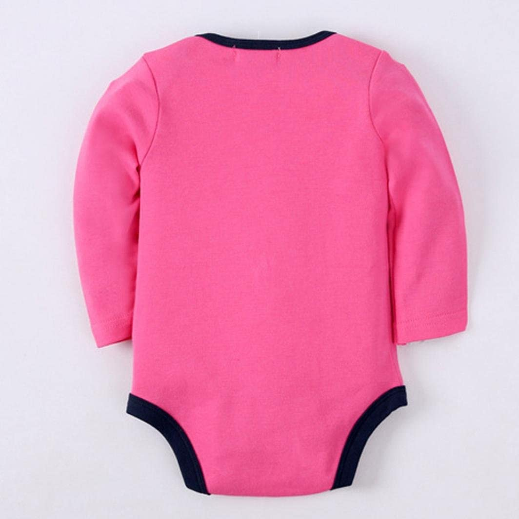 Newborn Long Sleeve Romper Jumpsuit Clothes Amiley baby girl clothing Set