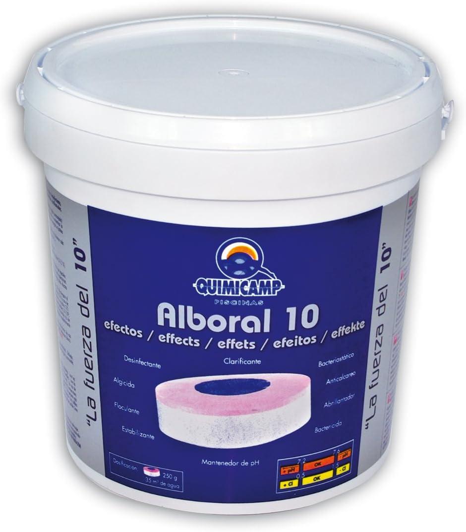 Quimicamp - Alboral 10 Efectos Tabletas 250gr, 5 kg