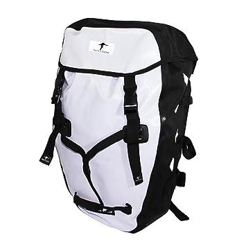 Red Loon mochila para bicicleta rueda por mochila bertronic-lona resistente al agua Blanco blanco: Amazon.es: Deportes y aire libre