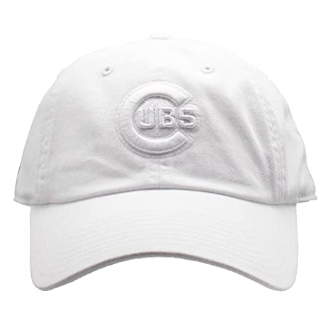 5a77f88cd2605 Amazon.com   American Needle Chicago Cubs Tonal Ballpark Raglan Baseball Hat  in White   Sports   Outdoors