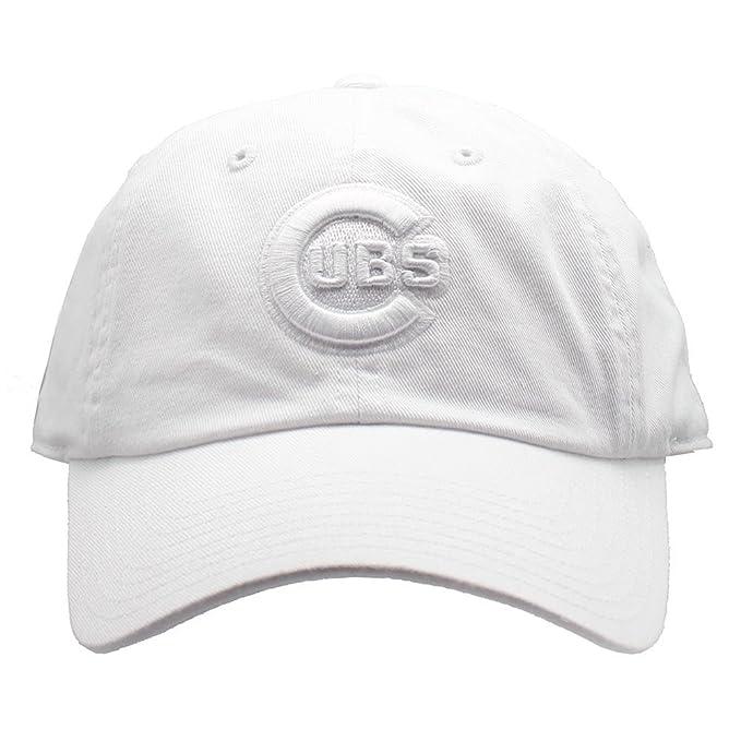 1cf6929da58cec Amazon.com : American Needle Chicago Cubs Tonal Ballpark Raglan Baseball Hat  in White : Clothing