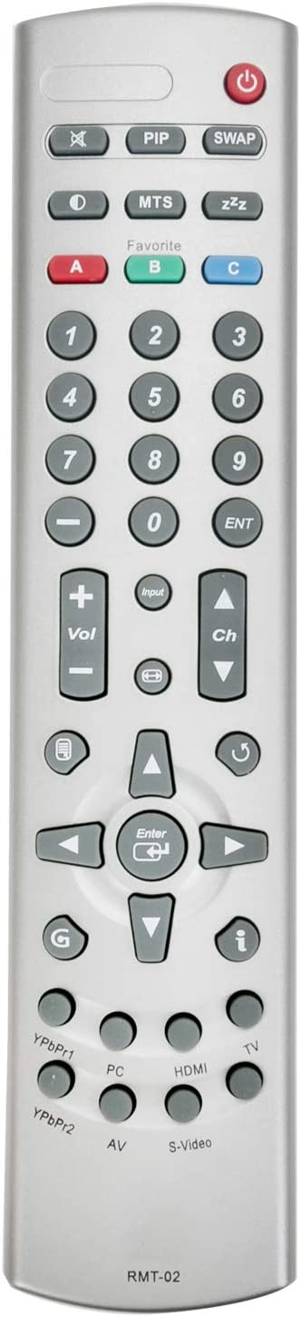 New Remote Control RMT-02 for Westinghouse LCD LED HDTV TV LTV-42w4 LTV-27W7 W4207 W3223 TX-42F430S SK-32H570D LVM-37W3 LTV-46W1HD LTV-37W2HD LTV-37W2 LTV-32W6HD LTV-27W7HD W4207HD
