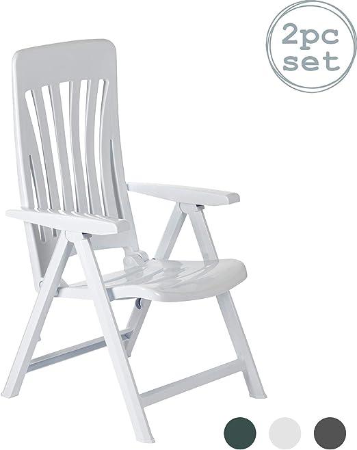 resol Blanes multifunción Plegable-posición Garden sillón - de ...