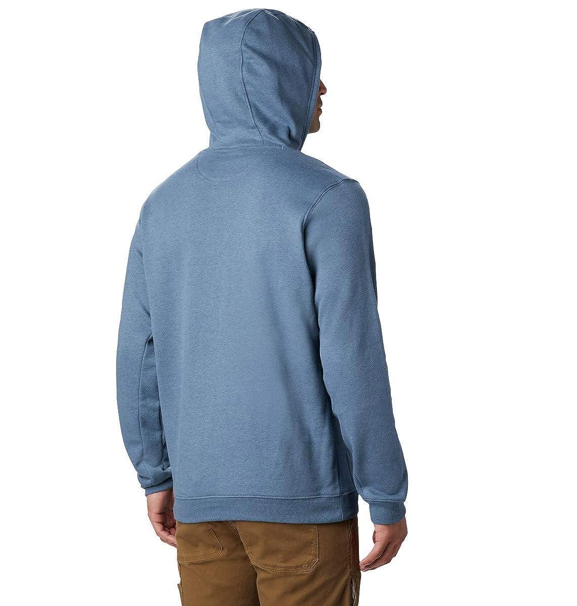 Cotton Blend Columbia Men/'s Hart Mountain Full Zip Hoodie