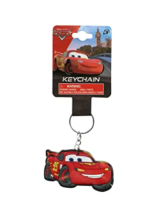 Lightning Mcqueen Rayo Llavero - Disney Key Ring: Amazon.es ...