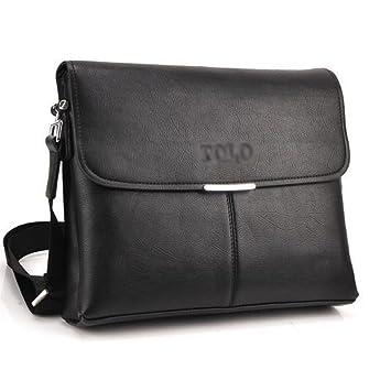 Polo pour homme en cuir randonnée Sac à bandoulière vintage sacoche pour  ordinateur portable Sacs ( d839fc40ed5