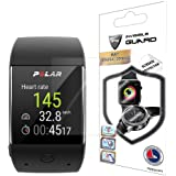Polar M600 Sports Smart Watch Screen Protector (2 Units) Invisible Ultra HD Clear Film Anti Scratch Skin Guard - Smooth / Self-Healing / Bubble -Free By IPG