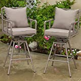 Best Selling Northrup Pipe Outdoor Adjustable Bar Stool