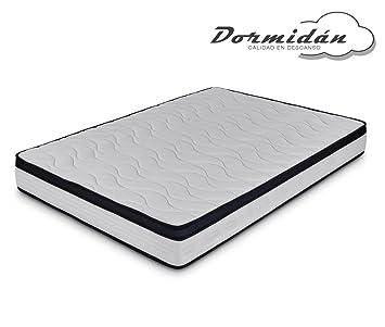 Dormidán - Colchón viscoelástico, Tejido Stretch, Cara Verano e Invierno, Medida 150 x