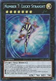 Yu-Gi-Oh! - Number 7: Lucky Straight (GAOV-EN091) - Galactic Overlord - Unlimited Edition - Secret Rare