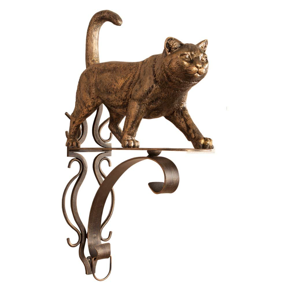 Bracket for Flowers Welcome Cat (with forging)