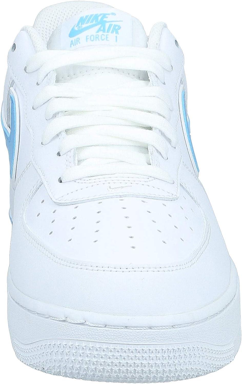 Nike Air Force 1 Flyknit celeste