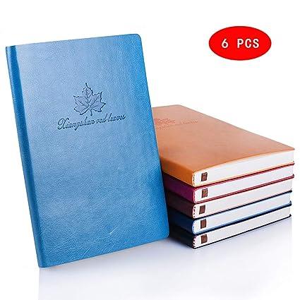 A5 Cuaderno cuero Libreta de Viaje, Rellenable, Travel ...