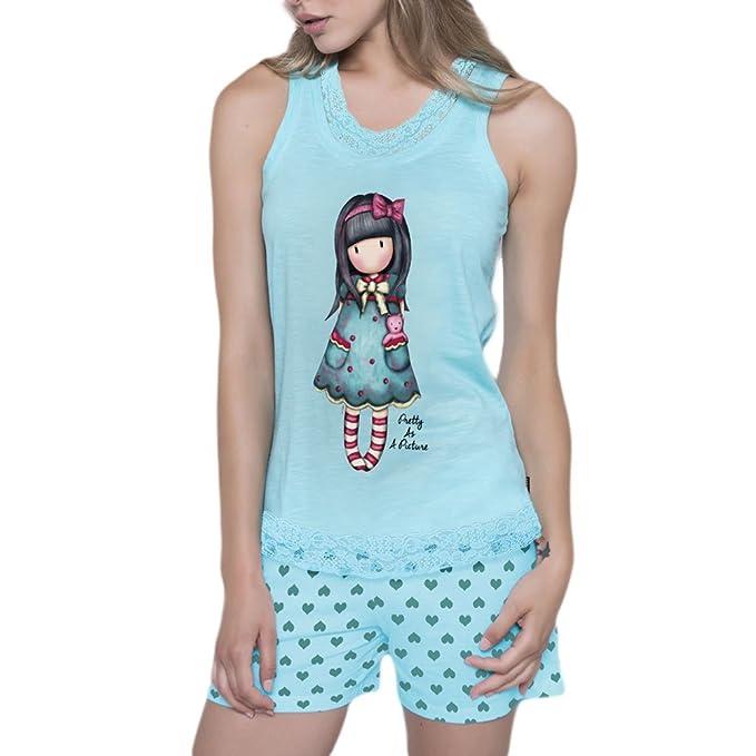 Pijama Mujer Verano Gorjuss Tirantes - Pretty As A Picture, XS