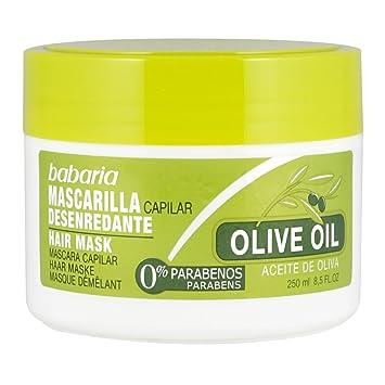 ACEITE DE OLIVA mascarilla capilar desenredante 250 ml: Amazon.es: Belleza