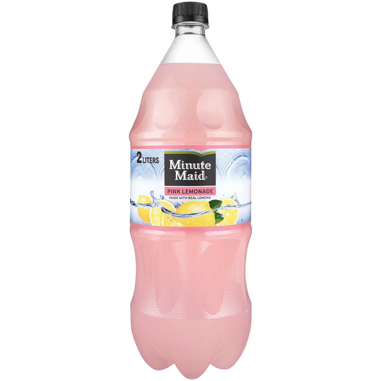 Minute Maid Pink Lemonade, Fruit Drink, 2 Liters