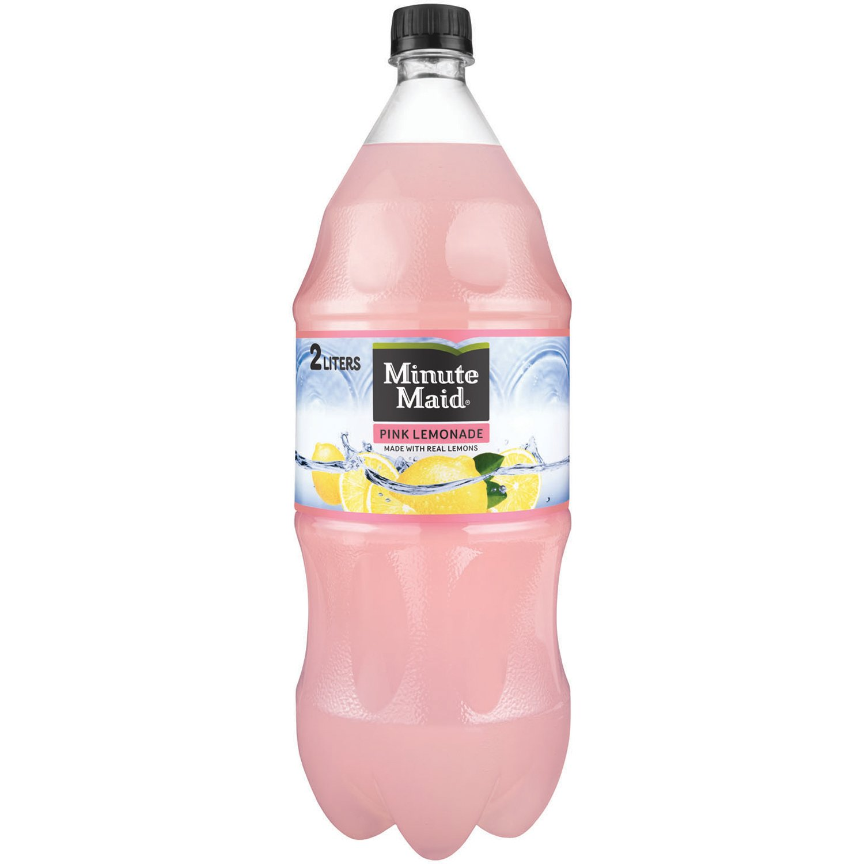 Minute Maid Pink Lemonade, Fruit Drink, 2 Liters by Minute Maid