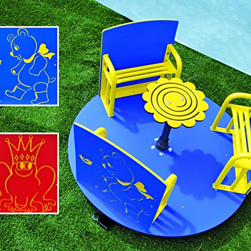 Summer Winter Outdoor Indoor Tiny Tots Spinner Playground equipment for Learning Centers, Daycares, Child Development Play Fun by Playtime Playground Equipment