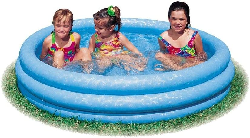 Intex 59416NP - Piscina hinchable 3 aros azul, 114 x 25 cm, 132 ...