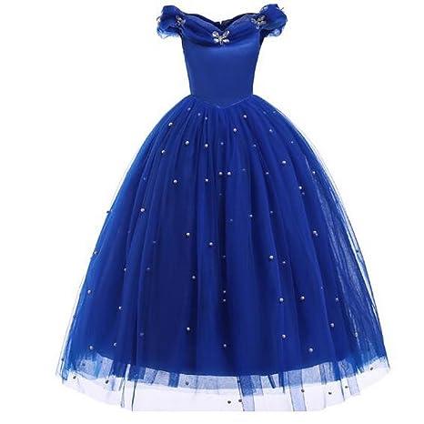 Vestido De Princesa Para Niñas Sin Mangas Sin Mangas Para