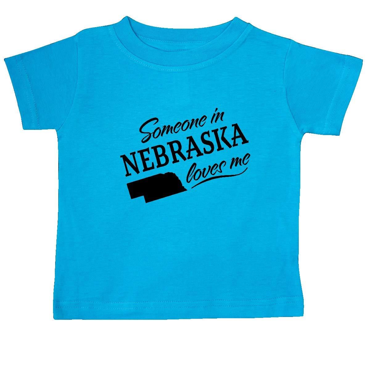 inktastic Someone in Nebraska Loves Me Baby T-Shirt