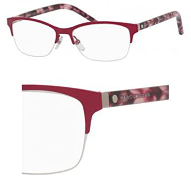 07e232642bd Image Unavailable. Image not available for. Color  Marc Jacobs Marc 76 0UC6 Red  Eyeglasses