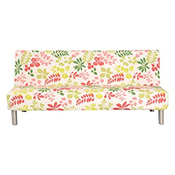 Amazoncom Difen Futon Slipcover Sofa Bed Cover Solid Color Full