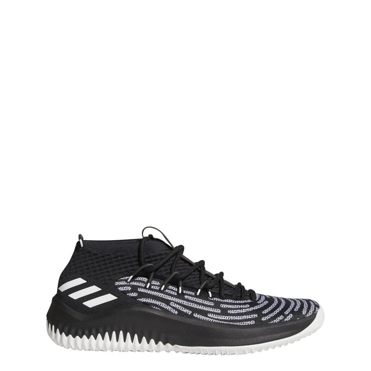 adidas Dame 4 Black History Month Shoe Men's Basketball B079NNBZHH 11.5 D(M) US|Black-white