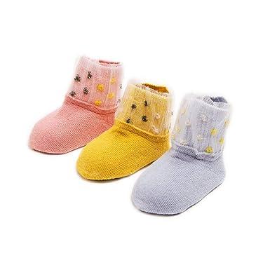 7948941118695 AMEIDD Chaussettes Bébé Chaussette en coton confortable pour bébé fille