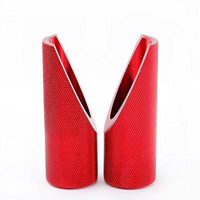 KKmoon 2Pcs Aluminum Foot Peg for Honda Ruckus Zoomer (Red): Home & Kitchen