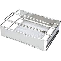 Bestonzon Stainless Steel Bread Baking Pan Foldable Grilling Rack Bread Baking Tool Metal Camping Toaster Foldable…