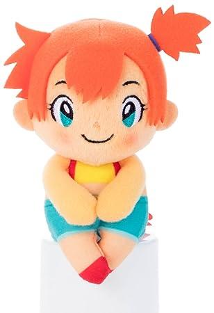 "Pokemon Chokkorisan Kasumi Misty Ondine Takara Tomy Plush Doll 13 cm Peluche 5.1"""