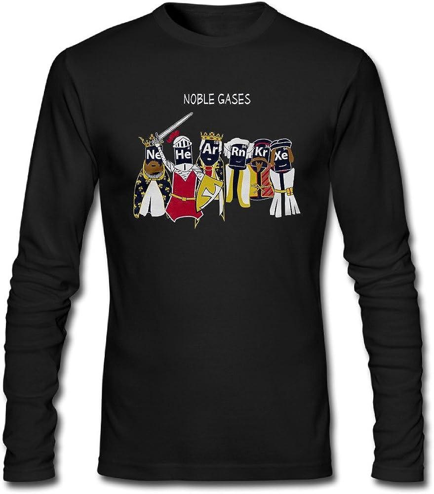 Noble gases divertido ciencia química Hombres de manga larga camisas Crazy camisas: Amazon.es: Ropa y accesorios