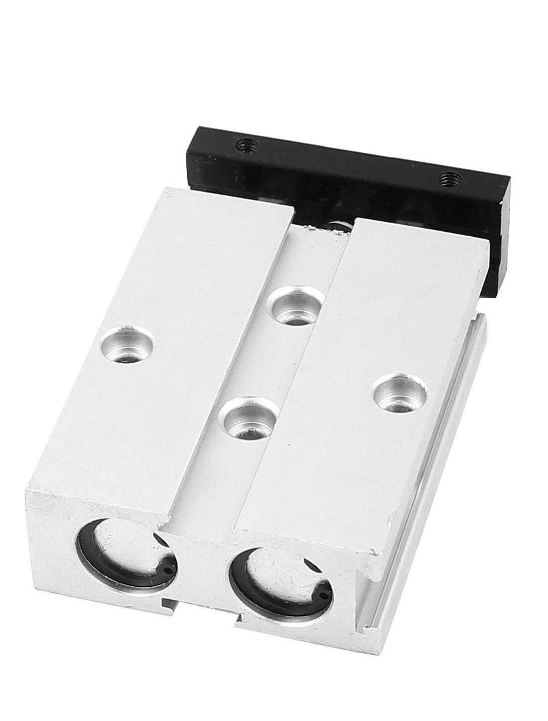TN10x10 10 mm x 10 mm de doble v/ástago de aleaci/ón de aluminio de aire del cilindro neum/ático