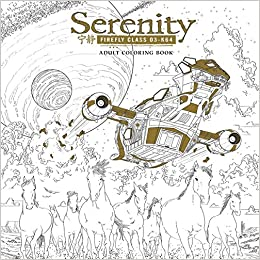 Amazon Serenity Adult Coloring Book 9781506702544 Fox Books