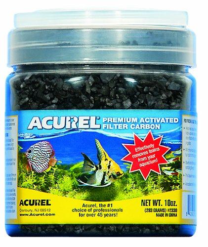 Acurel LLC Premium Activated Filter Carbon Aquarium and Pond Filter Accessory, 10-Ounce