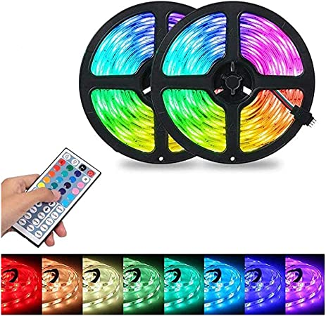 Kloius RGB LED Strip Flexible Light 44-Tasten-Infrarot-Fernbedienung LED Streifen