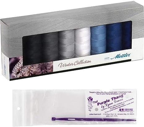 Meltler Winter Collection - Juego de 2 piezas de hilo de algodón ...
