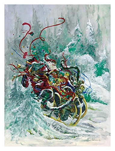 Global Gallery Peggy Abrams Windswept Toys-Giclee on Paper Print-Unframed-32 x 24 in Image Size, 32