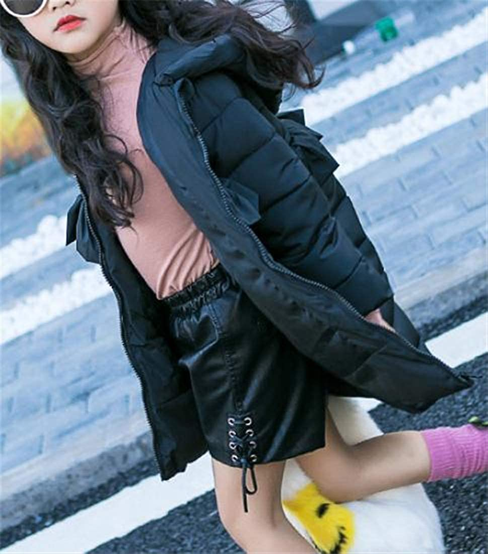 Sweatwater Girls Cotton-Padded Quilted Down Jacket Thicken Winter Hooded Parka Coat